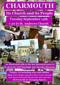 Charmouth - Its Church and its People - Poster